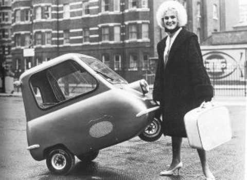 Peel 50 - Cea mai mica masina din lume - Refu.ro