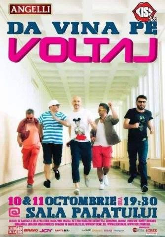 Concurs: 3 Invitatii la concertul Voltaj - Refu.ro