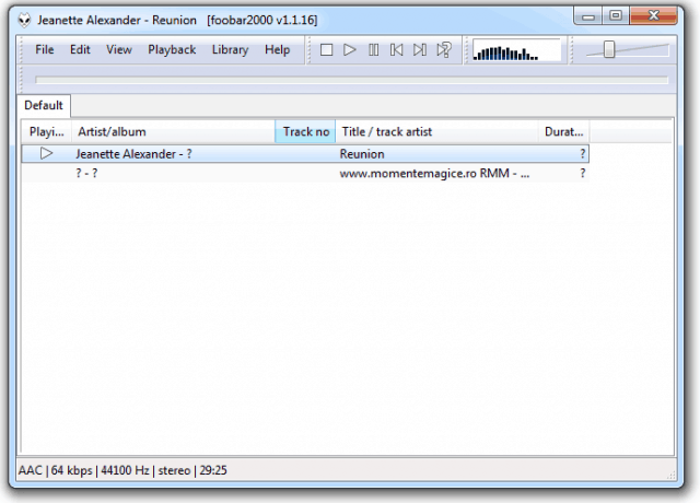 Foobar 2000 - Alternativa la Winamp - Refu.ro