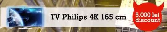 emag-tv-philips-4k-165cm-5000lei-discount