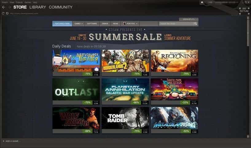 Steam Summer Sale 2014 s-a terminat!