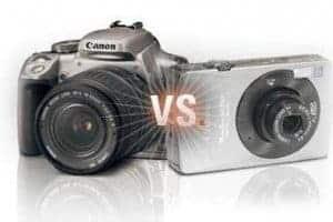 Ce aparat foto sa iti cumperi? DSLR vs Point-and-shoot