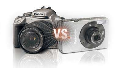 Ce aparat foto sa iti cumperi? DSLR vs Point-and-shoot