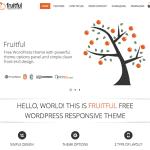 Free WordPress Themes Fruitful