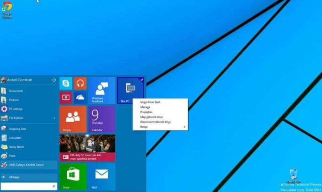windows 10 - primele impresii