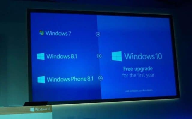 Windows 10 gratuit in primul an