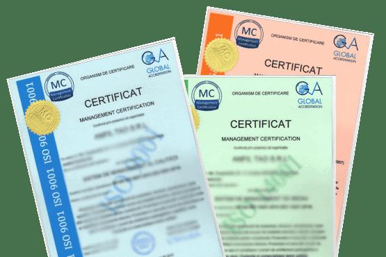 Certificatele ISO, garantia succesului - Refu.ro