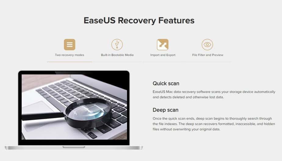 EaseUS Data Recovery Wizard for Mac, software-ul ce nu trebuie sa ii lipseasca nici unui utilizator de Mac! - Refu.ro