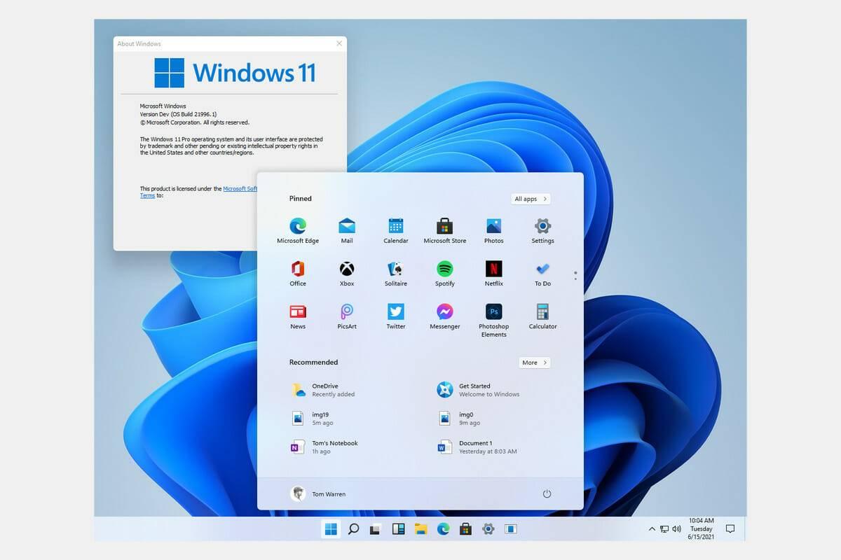 Lansare Microsoft Windows 11